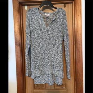 Loft - Ann Taylor Open Knit Tunic. NWOT